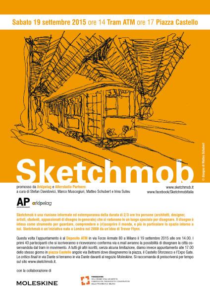 15.09.19 Sketchmob ediz Tram Milano 151C